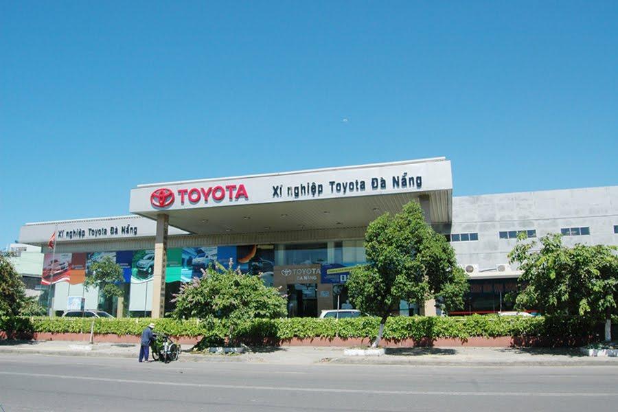 Các đại lý phân phối xe ô tô Toyota Đà Nẵng uy tín